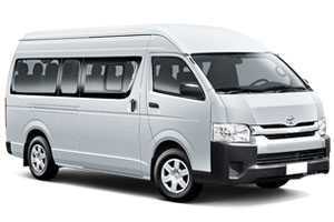 Toyota Hiace Commuter Automatic or Similar